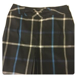Ann Taylor LOFT petite plaid miniskirt